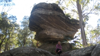 Mushroom rock im Blackdown Tableland Nationalpark