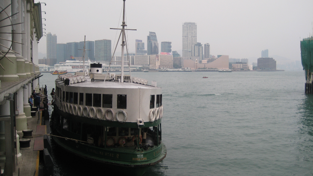 Unsere Star Ferry (Kowloon - Hong Kong Island)