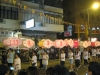 Laternen beim Tai Hang Fire Dragon Dance