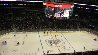 Eishockey-Spiel Phoenix Coyotes vs. LA Kings im STAPLES Center