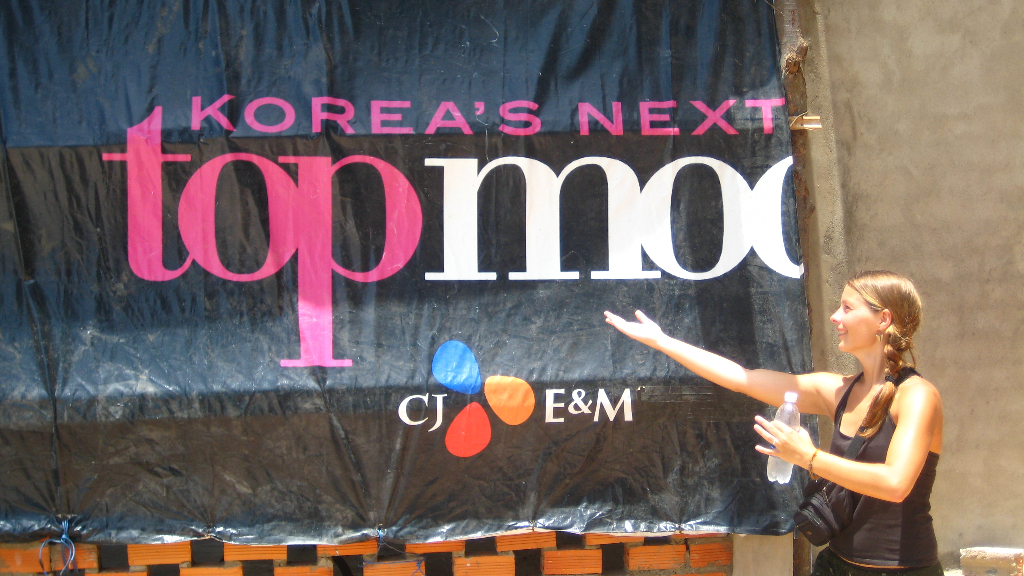 Korea\'s next topmodel in Mui Ne