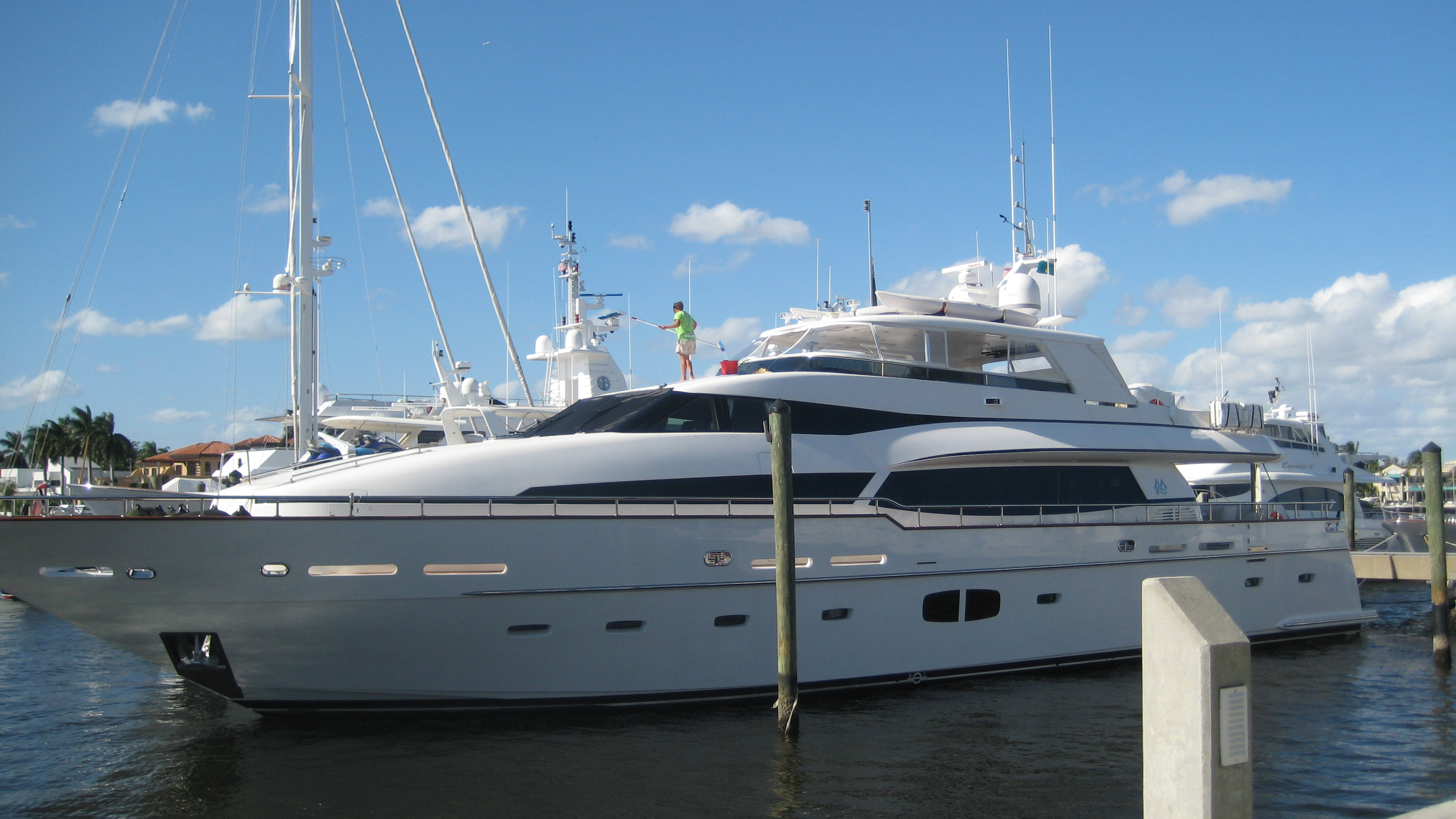 Luxus-Yacht in Fort Lauderdale