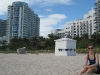 Christin am Miami Beach